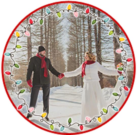 Проведение свадьбы зимой